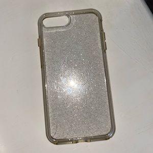 Sparkly iPhone 8 Plus Otterbox phone case